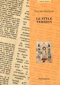 Pascale Hummel-Israel - Le style version.