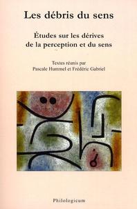 Pascale Hummel-Israel et Frédéric Gabriel - Les débris du sens - Etudes sur les dérives de la perception et du sens.