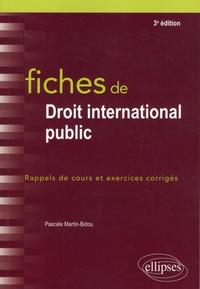Téléchargement de livre électronique gratuit Fiches de droit international public  - Rappels de cours et exercices corrigés
