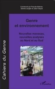 Pascale Molinier et Sandra Laugier - Cahiers du genre N° 59/2015 : Genre et environnement - Nouvelles menaces, nouvelles analyses au Nord et au Sud.