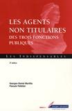 Pascale Pelletier et Georges-Daniel Marillia - Agents non titulaires des trois fonctions publiques.