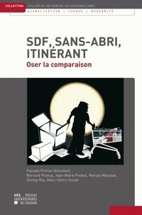 Pascale Pichon - SDF, sans-abri, itinérant - Oser la comparaison.