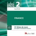Pascale Recroix - DSCG 2 Finance - 31 fiches de cours pour acquérir les connaissances nécessaires.
