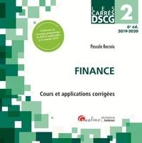 Pascale Recroix - Finance DSCG 2 - Cours et applications corrigées.