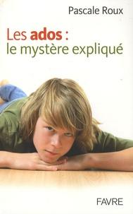 Checkpointfrance.fr Les ados : le mystère expliqué Image