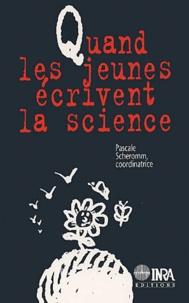 Quand les jeunes écrivent la science - Pascale Scheromm   Showmesound.org