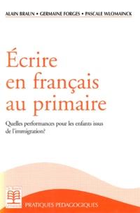 Pascale Wlomainck et Alain Braun - .