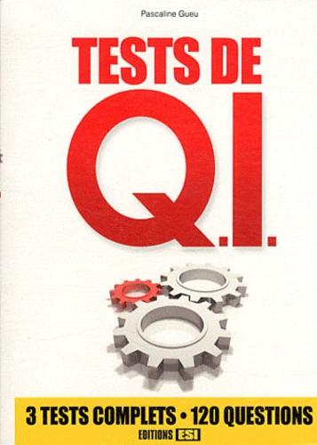 Pascaline Gueu - Tests de Q.I..