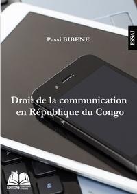 Passi Bibéné - Droit de la communication en République du Congo.