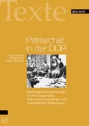 Patriarchat in der DDR - Nachträgliche Entdeckungen in DFD-Dokumenten, DEFA-Dokumentarfilmen und soziologischen Befragungen.