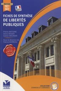 Patrice Barreau - Fiches de synthèse de libertés publiques.