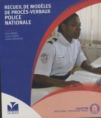 Patrice Barreau - Recueil de modèles de procès-verbaux - Police Nationale.