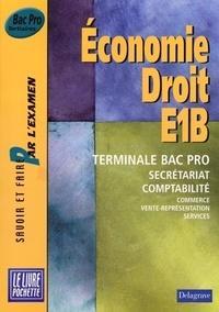 Accentsonline.fr E1B Economie Droit Tle Bac Pro Image