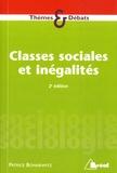 Patrice Bonnewitz - Classes sociales et inégalités - Stratification et mobilité.