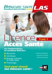 Patrice Bourgeois et Giovanni Fumelli - LAS - Licence Accès Santé - Tome 1.