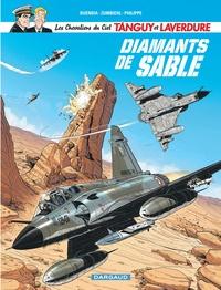 Patrice Buendia et Sébastien Philippe - Les Chevaliers du Ciel Tanguy et Laverdure Tome 6 : Diamants de sable.