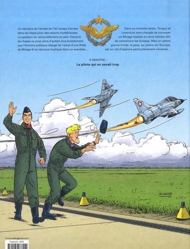"""Une aventure """"Classic"""" de Tanguy et Laverdure Tome 3 Coups de feu dans les Alpes"""
