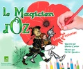 Patrice Cartier et William Wallace Denslow - Le Magicien d'Oz - Livre à colorier.