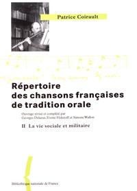 Répertoire des chansons françaises de tradition orale - Tome 2, Le mariage, la vie sociale et militaire, lenfance.pdf