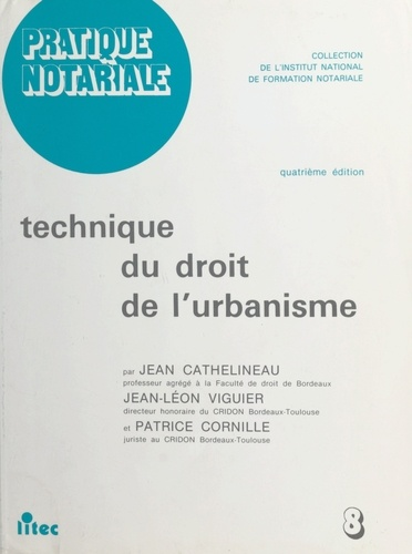 Technique du droit de l'urbanisme