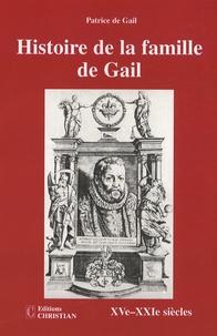 Alixetmika.fr Histoire de la famille de Gail - XVe-XXIe siècles Image