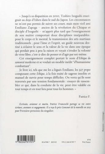 Ethique du samouraï moderne. Petit manuel de combat pour temps de désarroi