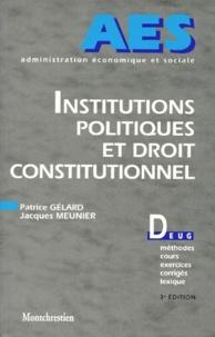 Patrice Gélard et Jacques Meunier - .