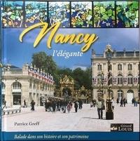 Patrice Greff - Nancy l'élégante.