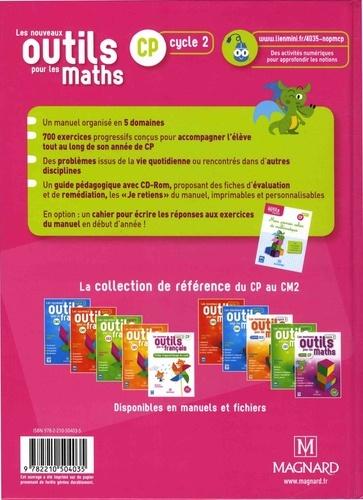 Les nouveaux outils pour les maths CP cycle 2. Manuel  Edition 2018