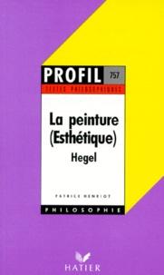 LA PEINTURE (ESTHETIQUE). Hegel.pdf