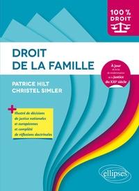 Patrice Hilt et Christel Simler - Droit de la famille.