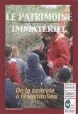 Patrice Joly - Le patrimoine immatériel - De la collecte à la restitution.