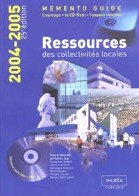 Accentsonline.fr Ressources des collectivités locales 2004-2005 - Mémento guide Image