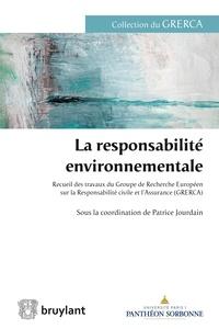 Patrice Jourdain - La responsabilité environnementale.