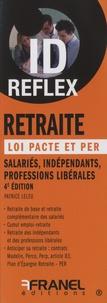 Patrice Leleu - Retraite, loi Pacte et PER - Salariés, indépendants, professions libérales.