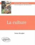 Patrice Maniglier - La culture.