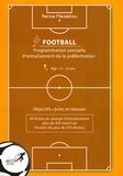 Patrice Marseillou - Programmation annuelle d'entraînement de la préformation football - Age 12-15 ans.