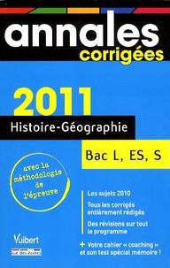Patrice Mouchel-Vallon et Arnaud Léonard - Histoire-Géographie Bac L, ES, S.