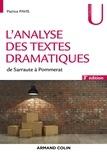 Patrice Pavis - L'analyse des textes dramatiques - De Sarraute à Pommerat.