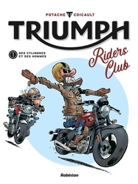 Patrice Perna et Frédéric Coicault - Triumph - Riders Club.
