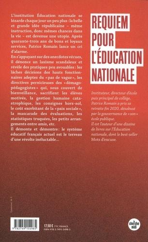 Requiem pour l'éducation nationale. Un chef d'établissement dénonce : parents et professeurs doivent savoir !