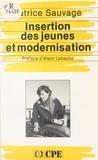 Patrice Sauvage - Insertion des jeunes et modernisation.