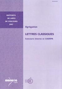 Patrice Soler - Agrégation Lettres classiques - Concours interne et CAERPA.