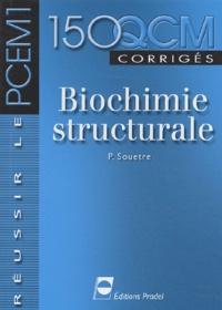 Deedr.fr Biochimie structurale. - 150 QCM corrigés Image