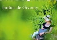 Patrice Thébault - Jardins de Giverny (Calendrier mural 2017 DIN A3 horizontal) - Palette de plantes qui composent les jardins de Giverny (Calendrier mensuel, 14 Pages ).