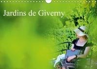 Patrice Thébault - Jardins de Giverny (Calendrier mural 2017 DIN A4 horizontal) - Palette de plantes qui composent les jardins de Giverny (Calendrier mensuel, 14 Pages ).