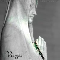 Patrice Thébault - Vierges (Calendrier mural 2017 300 × 300 mm Square) - Visages de vierges sculptées (Calendrier mensuel, 14 Pages ).