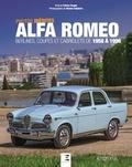 Patrice Vergès et Nicolas Delpierre - Alfa Romeo - Berlines, coupés et cabriolets de 1958 à 1998.