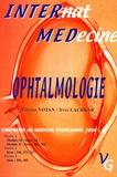 Patrice Votan et Yves Lachkar - Ophtalmologie - Nouvelles questions de l'Internat 2004.