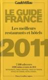 Patricia Alexandre - Guide Gault Millau France 2011 - Les meilleurs restaurants et hôtels.